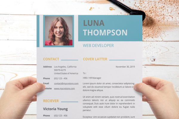 Clean Simple Cover Letter Template Word Format Word Format