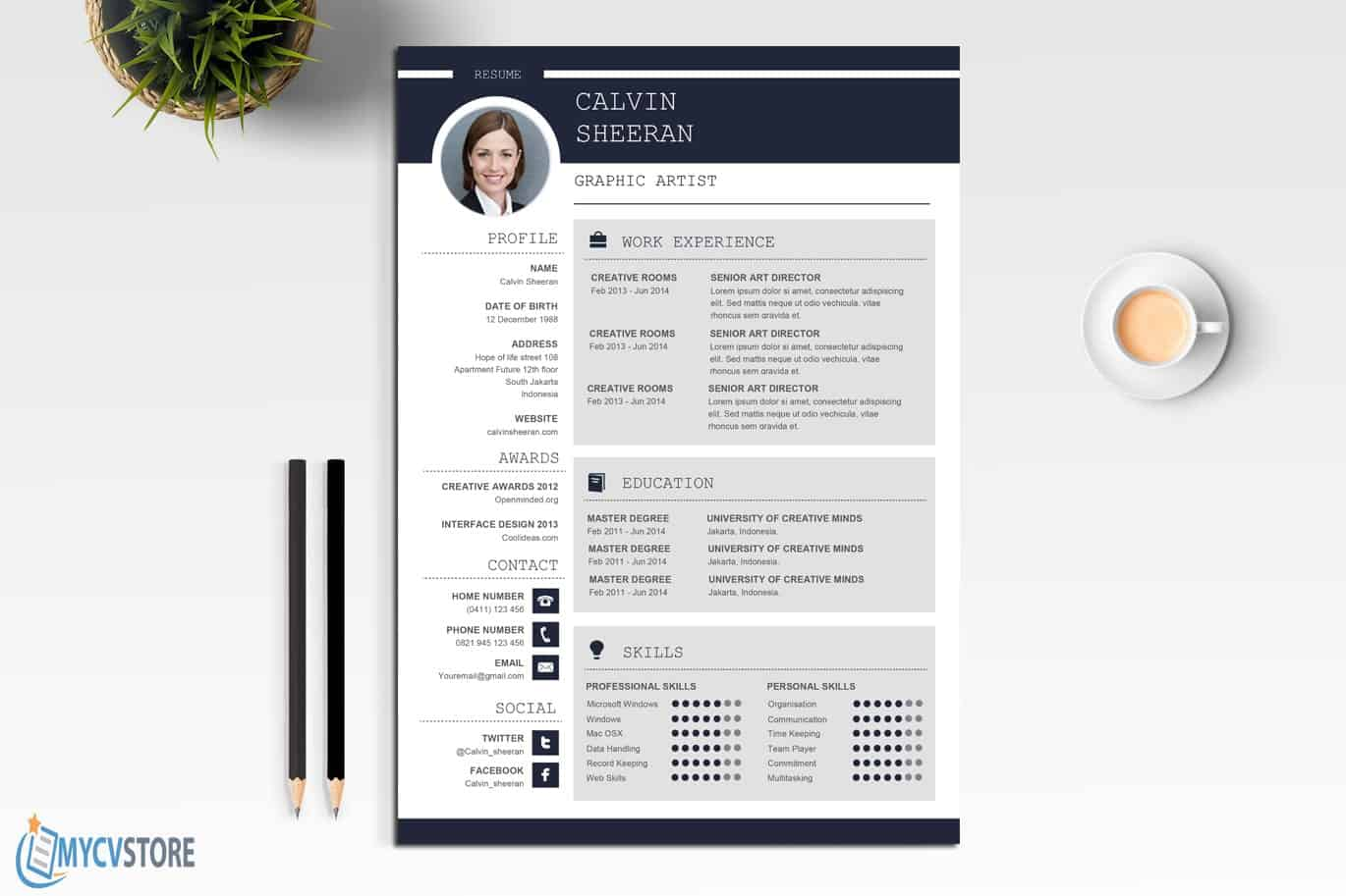 Professional-CV-MS-Word-Template2
