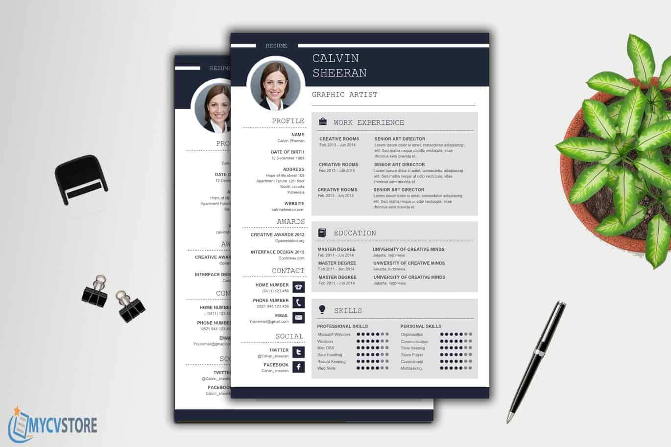 Professional-CV-MS-Word-Template3