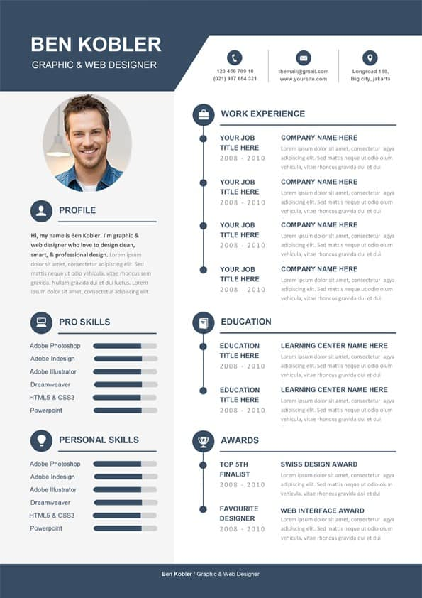 professional  u0026 creative cv template