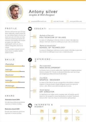 Web Designer Resume Template