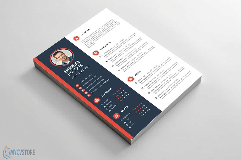 Clean Modern CV Template