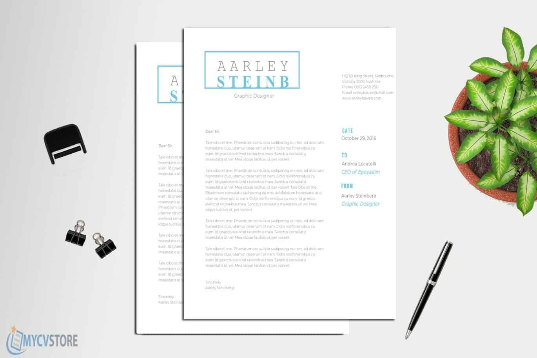 Modern Minimalist Cover Letter