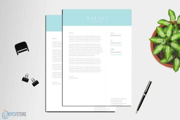 Creative Minimalist Cover Letter