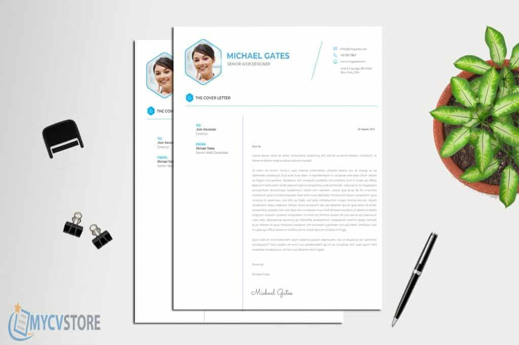 Clean Cover Letter Template Downloadable Cover Letter