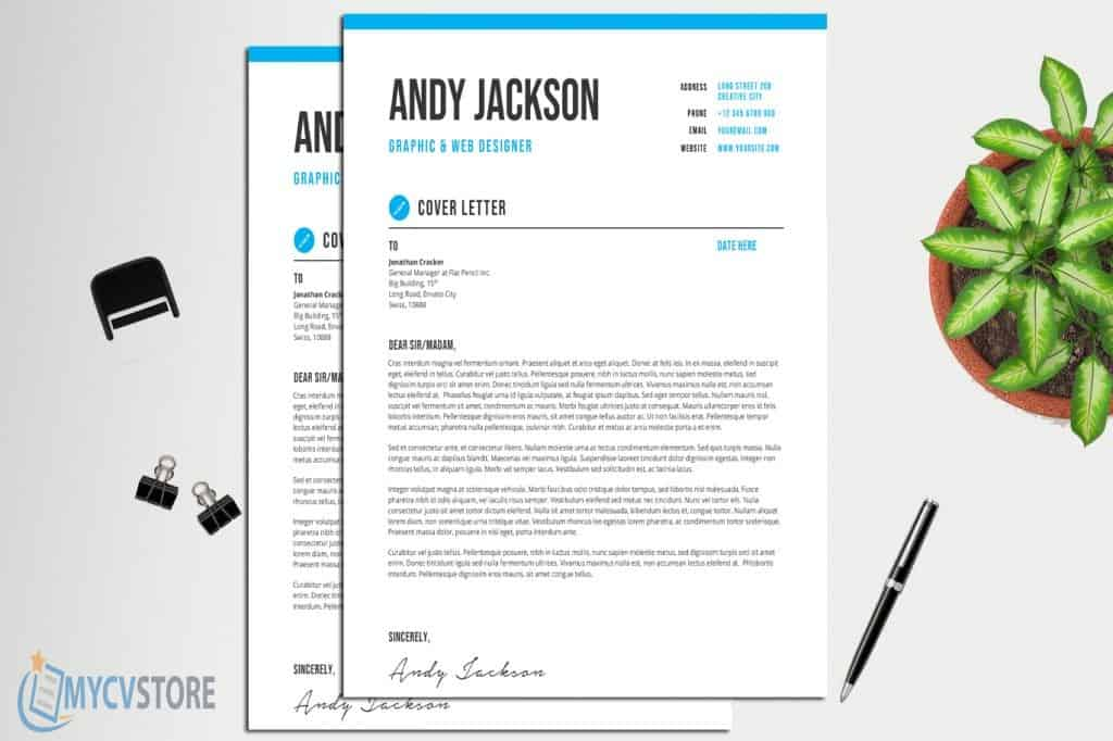 Professional & Clean Cover Letter