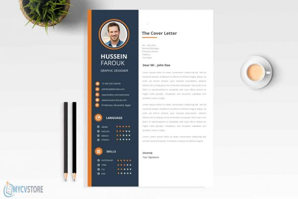 Clean Modern Cover Letter