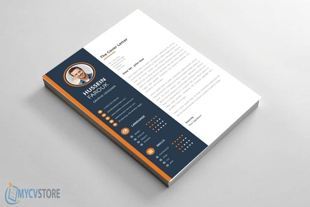 Clean Modern Cover Letter Template