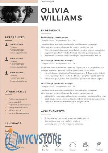 Clean Original CV Template