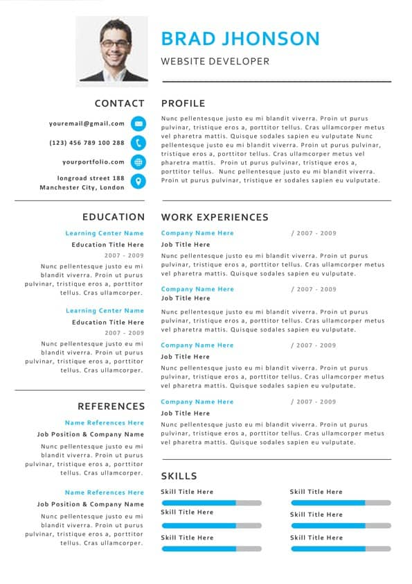 Creative Professional Resume