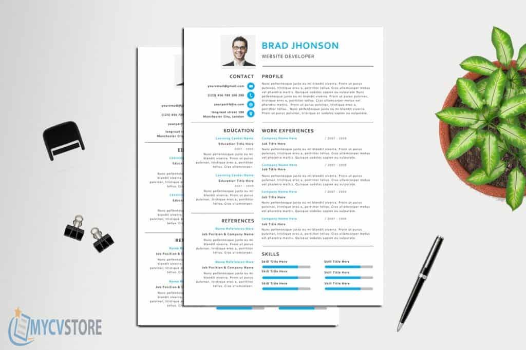 Creative Professional Resume Template