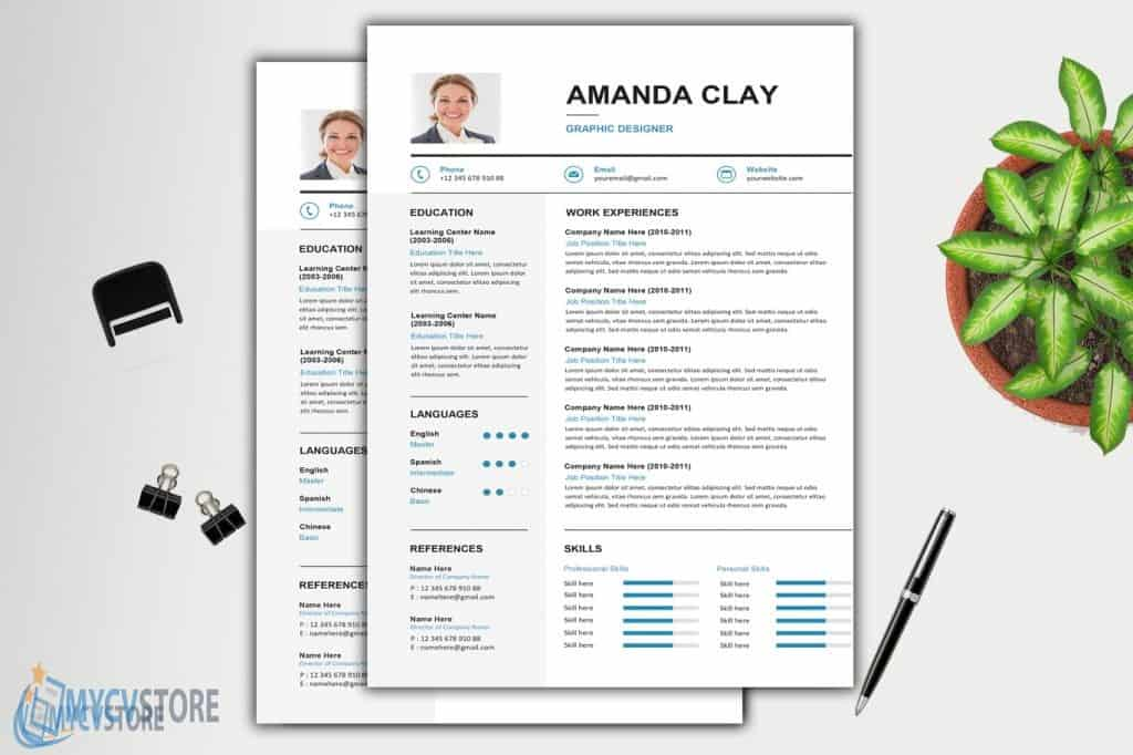 Clean Resume/CV Template