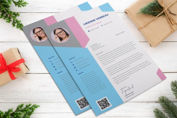 Creative Infographic Cover Letter Word Format