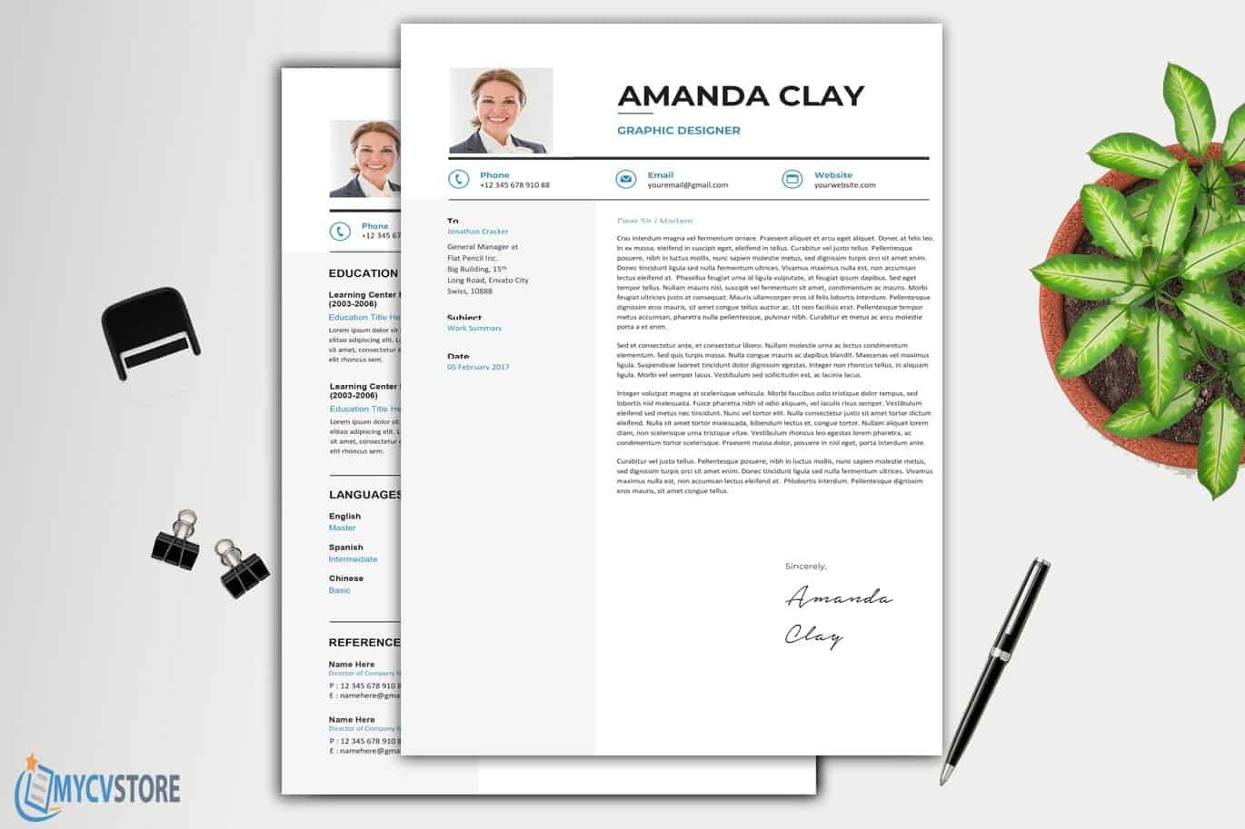 Cover Letter Manager