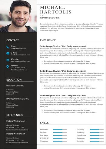 Classic Design Resume Template