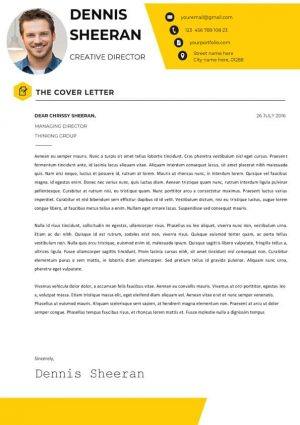 Creative Director Cover Letter
