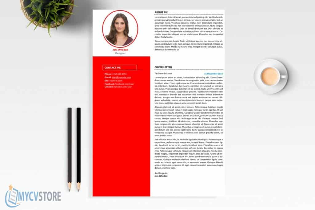 Clean Designer Cover Letter