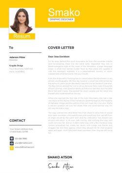 Modern Cover Letter Template