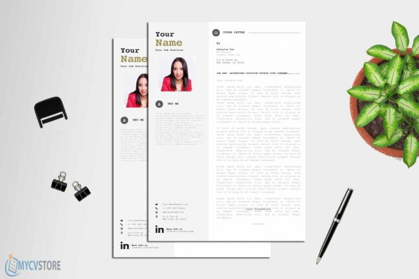 Bold Cover Letter