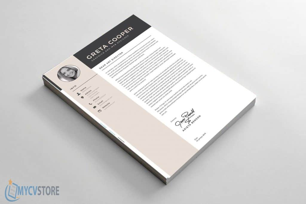 Clean Cover Letter Template