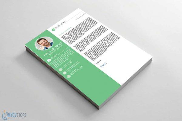 Green Modern Cover Letter