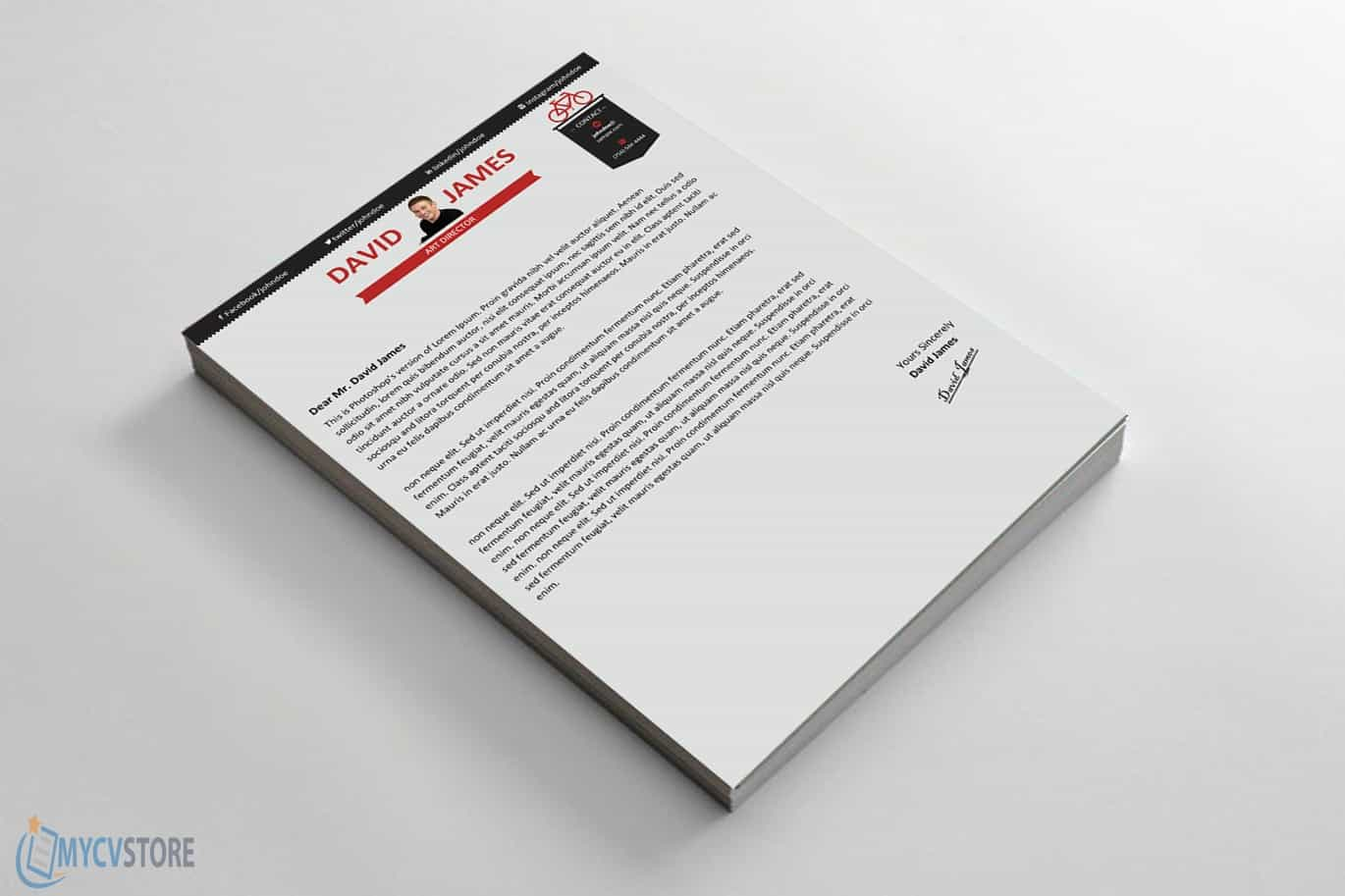 Art Director Cover Letter - Downloadable Cover Letter Template
