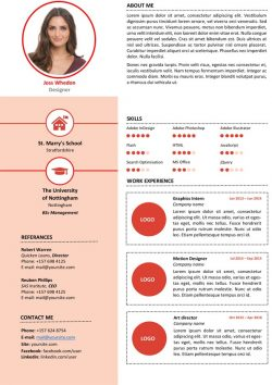 Clean Designer Resume Template