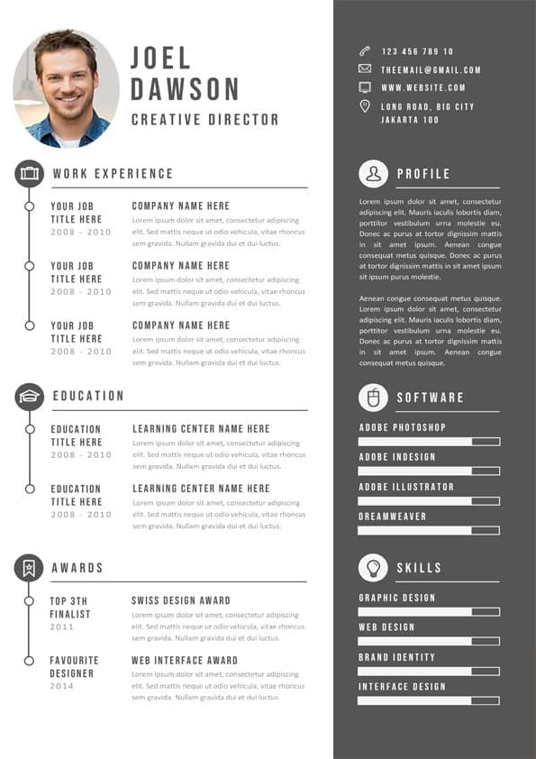 Original Resume Template
