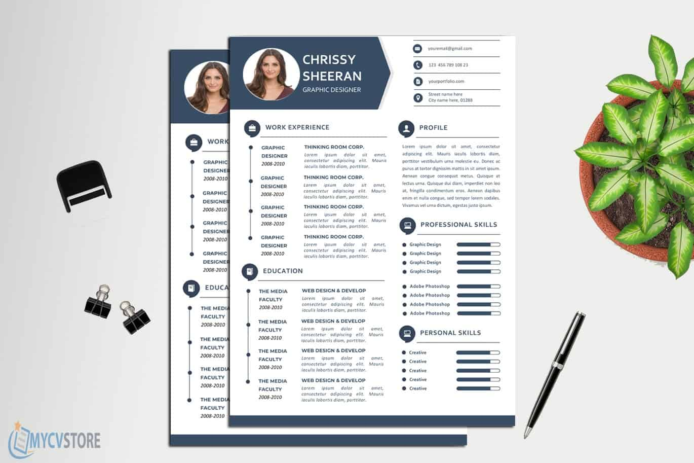 Fresh Clean Resume