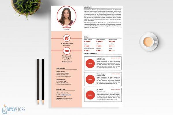 Clean Designer Resume Template