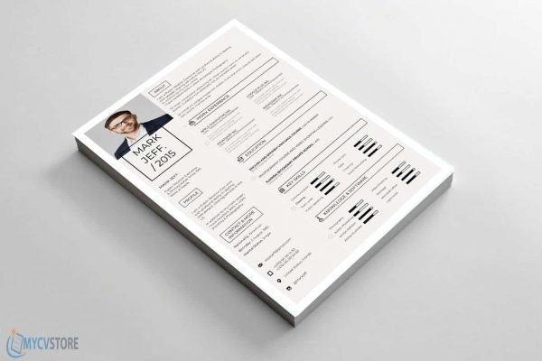 Retro Resume Template