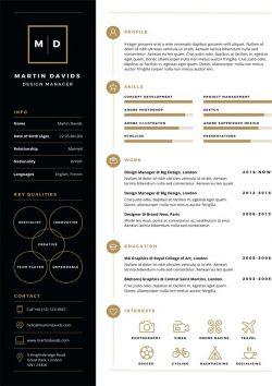 Design Manager CV Template