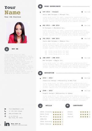 Clean Resume/CV Template