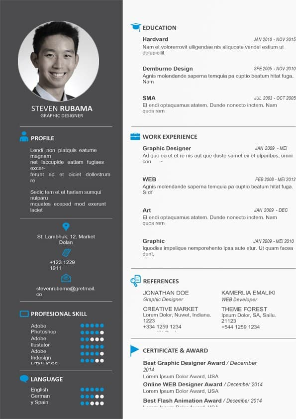 Web Designer Resume Template from www.mycvstore.com