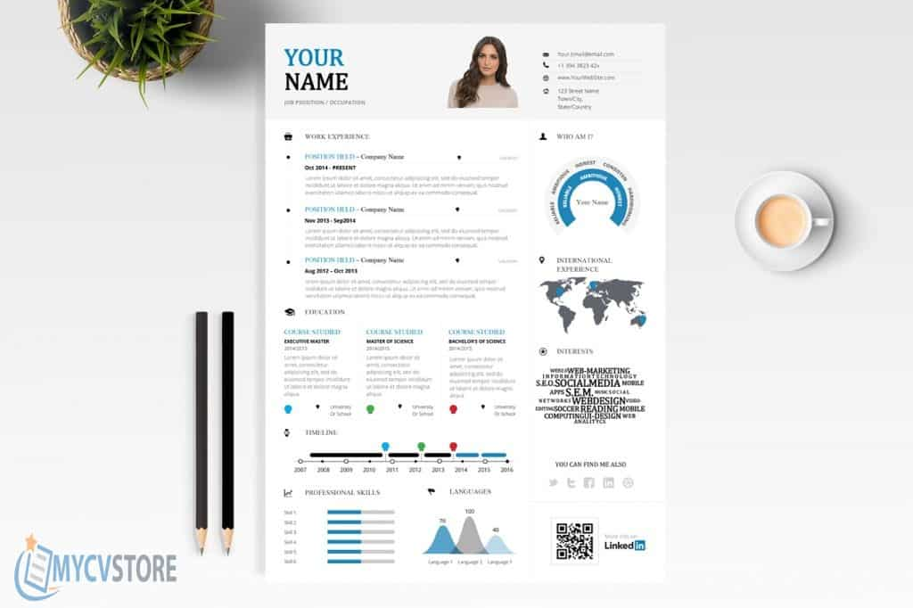 Creative Infographic Resume