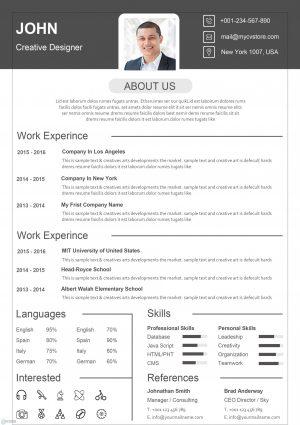 Classic Design Resume