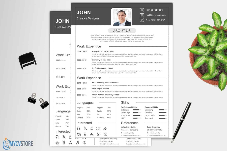 Classic-Design-Resume3