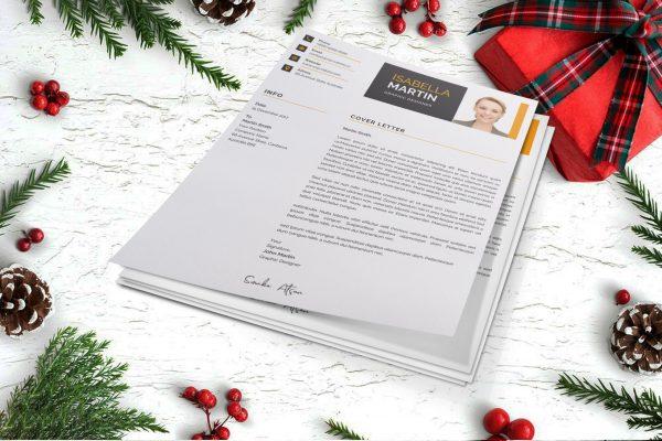Clean Cover Letter Design