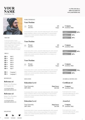 Clean Word Resume Template
