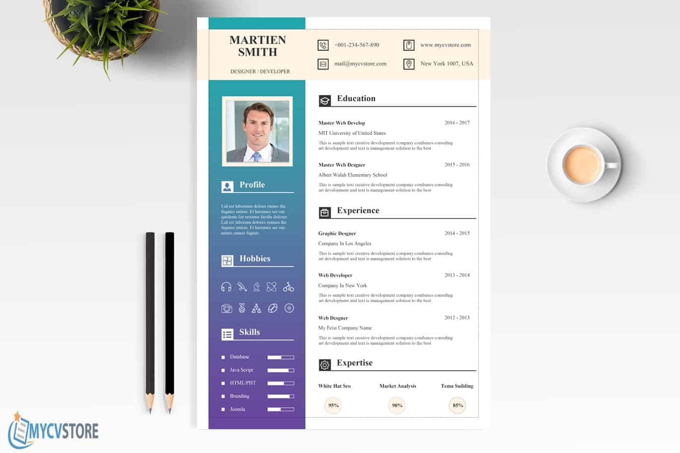 Stationary-Resume-Template2