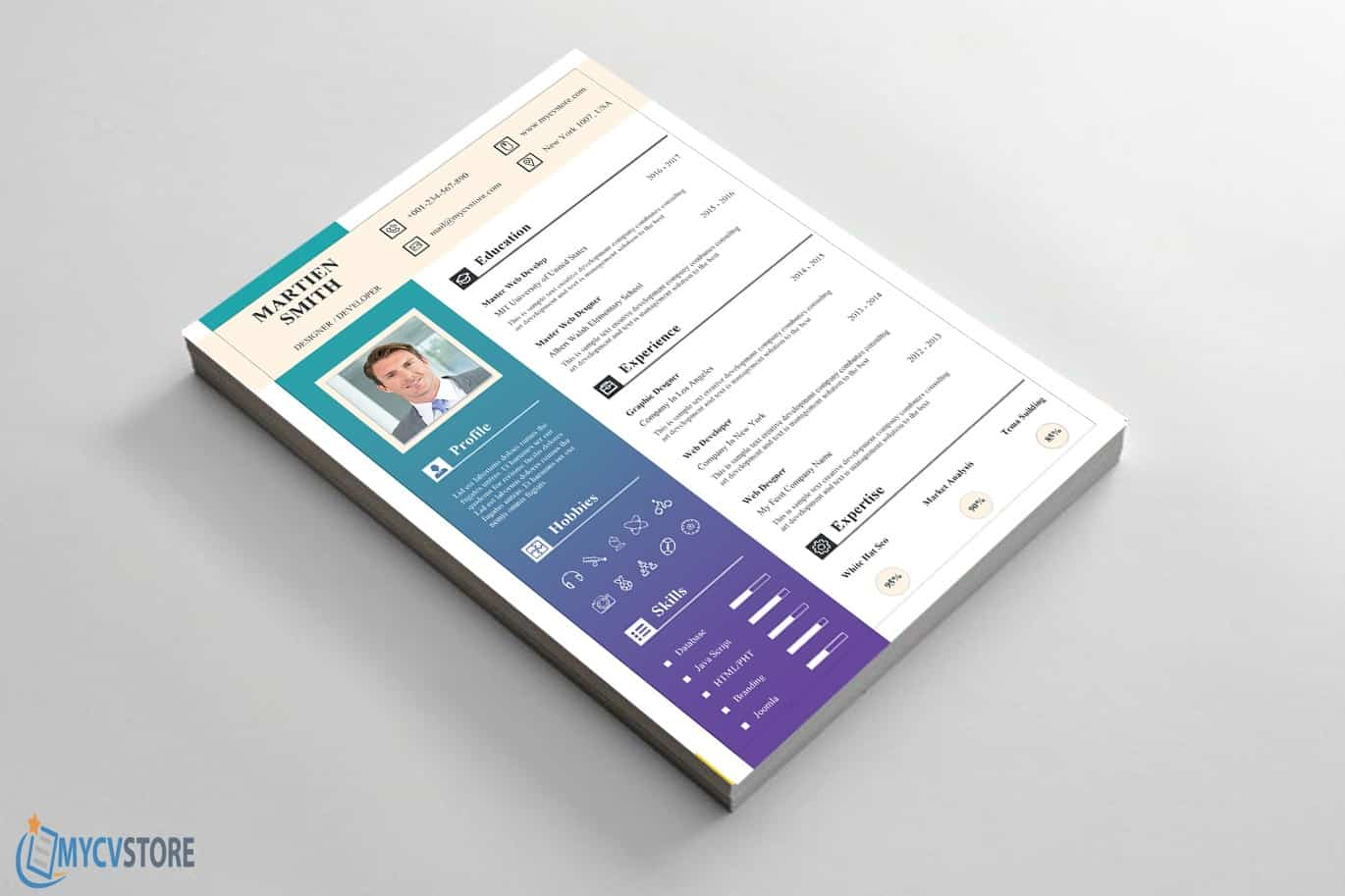 Stationary-Resume-Template3