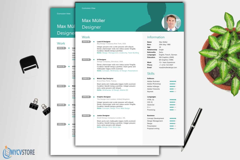 Swiss-Style-Resume-Template1