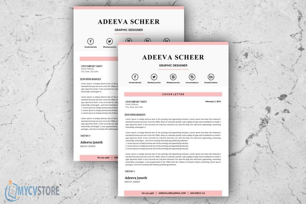 Artistic Cover Letter Template