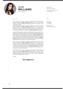 Original Cover Letter Template