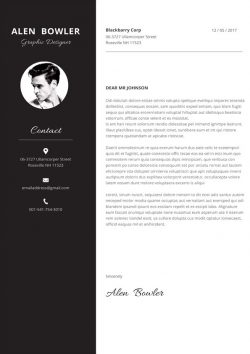 Hipster Cover Letter Template