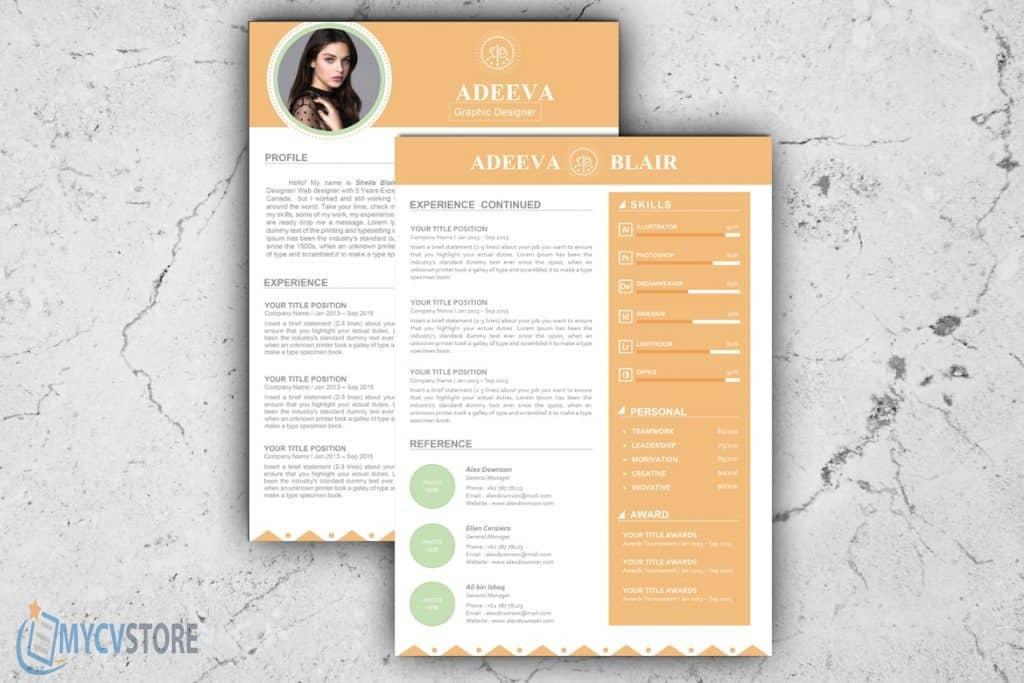 Blair Clean Resume Template