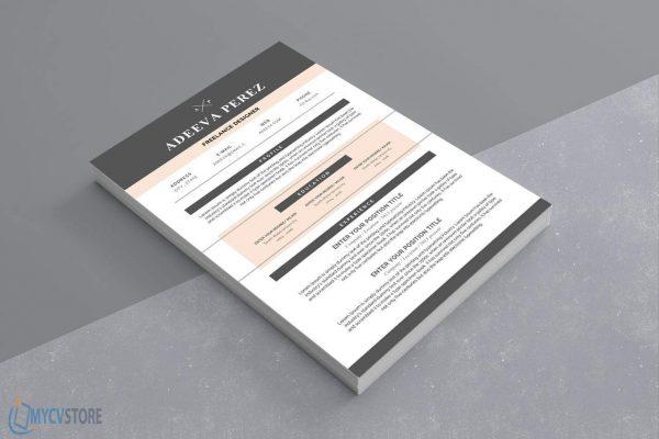Simple Design Resume