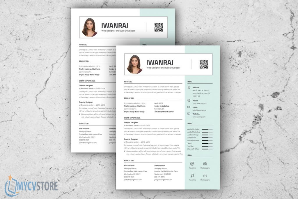 Sharp Resume Template
