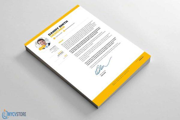 Modern Graphic Designer Cover Letter