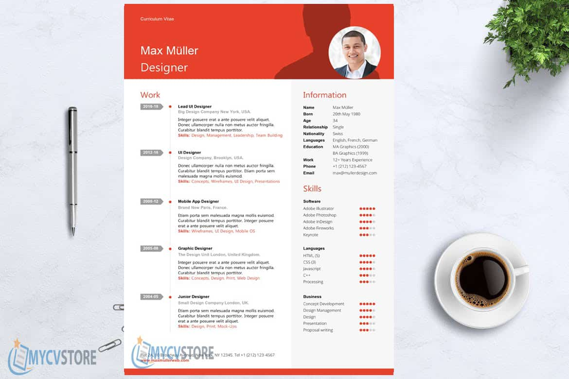Financial Manager Resume Template